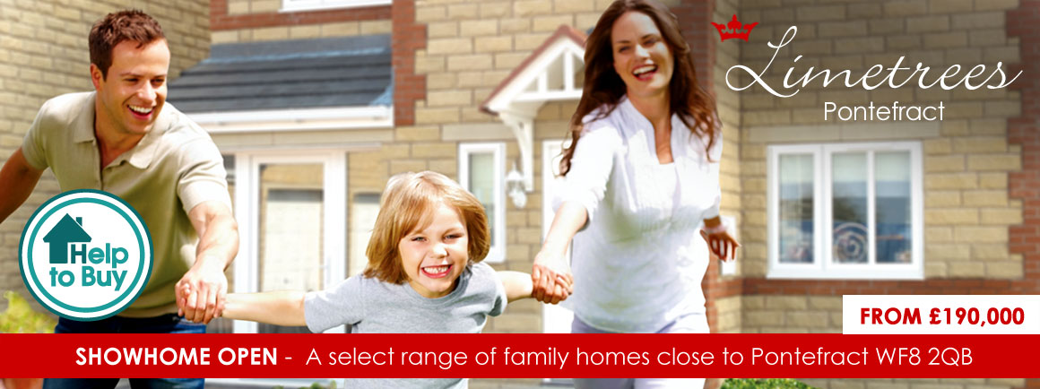Limetrees - new build housing development in Pontefract, West Yorkshire