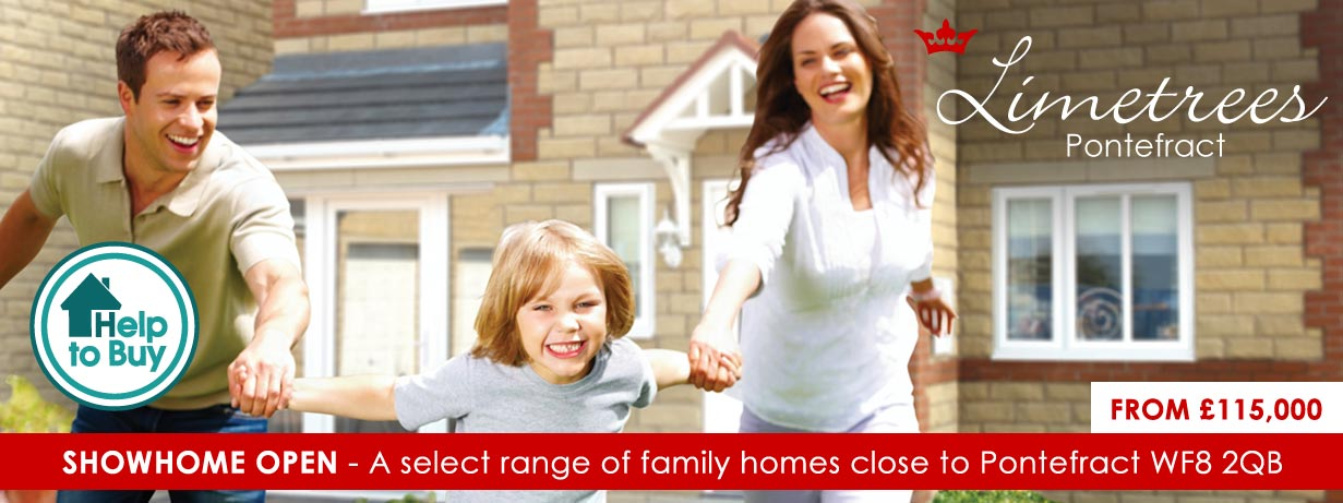 New houses for sale at Limetrees Pontefract, West Yorkshire
