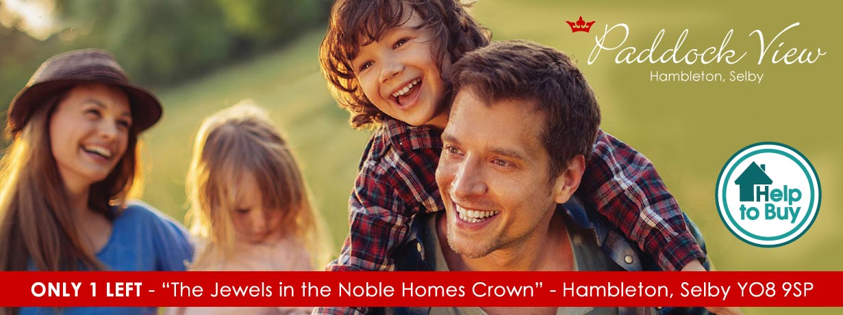 New homes for sale Hambleton, Selby