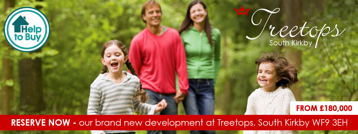 Treetops - new housing development in South Kirkby