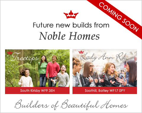 New houses from Noble Homes - coming soon