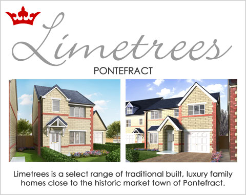 Limetrees housing development, new homes Pontefract