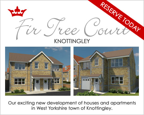 New build homes for sale in Knottingley, Ferrybridge, near Pontefract