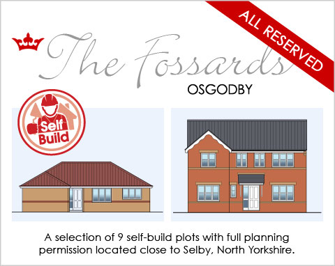Self Build homes near Selby