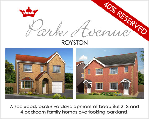 Brand new family homes in Royston, near Barnsley, South Yorkshire