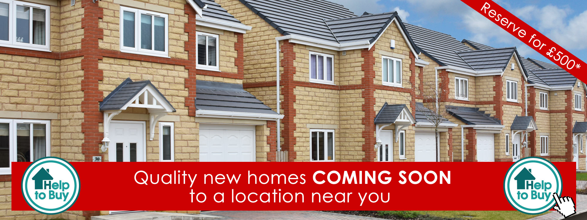 new homes for sale Yorkshire - coming soon to a town or village near you