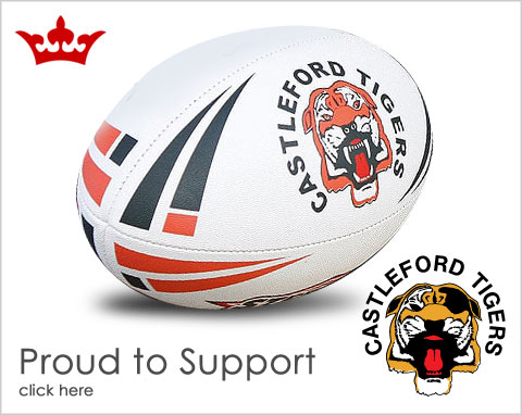 Proud sponsors of Castleford Tigers