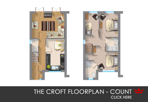 The Count floorplan