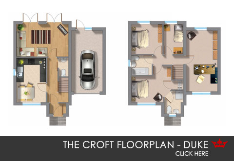 The Duke floorplan