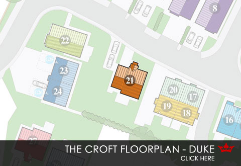 Siteplan for The Croft