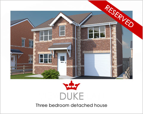 The Duke - a new house by Noble Homes