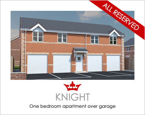 The Knight - a new apartment by Noble Homes