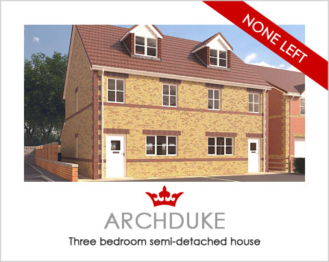 The ARCHDUKE - a new house by Noble Homes