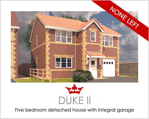 The Duke II - a new build house by Noble Homes