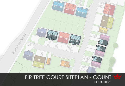 Siteplan for Firtree Court
