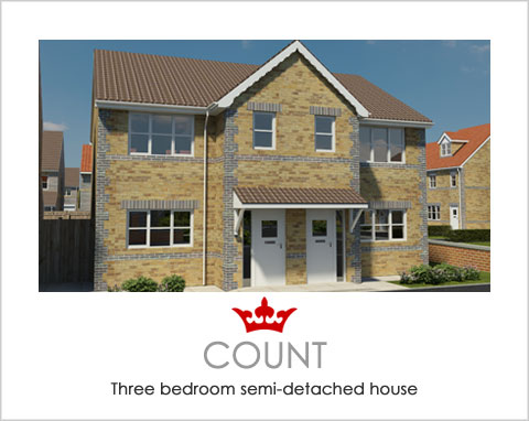 The Count - a new build house by Noble Homes