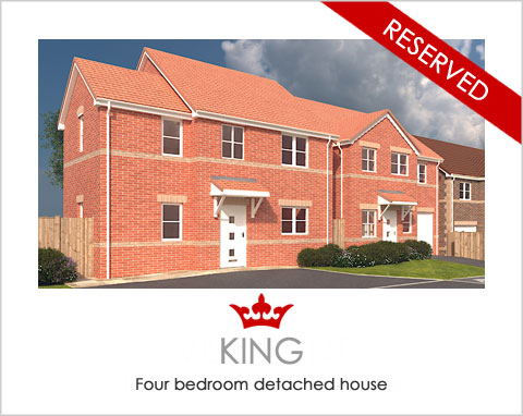 The King - a 4 bed new build house by Noble Homes