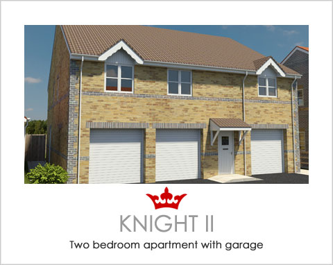 The Knight II - a new build house by Noble Homes