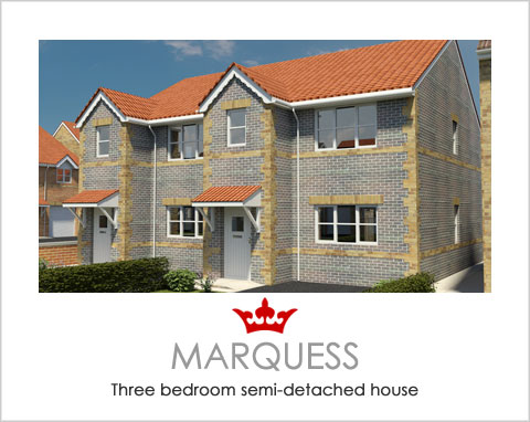 The Marquess - a new build house by Noble Homes