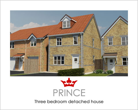 The Prince - a new build house by Noble Homes