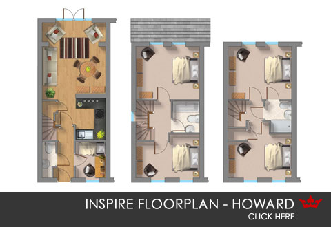 3D floorplan of new home in Earlsheaton