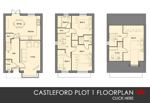 Plot 1 Weir View, self-build, Castleford
