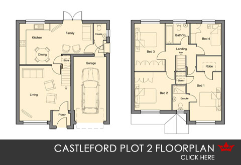 Weir View, self-build, Castleford