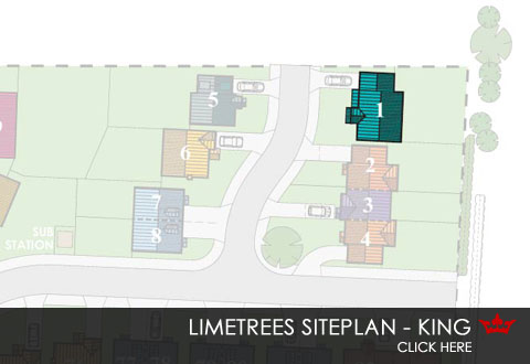 Limetrees Pontefract - siteplan for the King