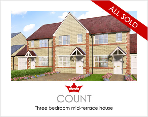 New houses in Pontefract