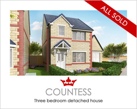 The Countess - new detached house for sale Pontefract