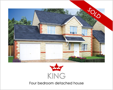 The King - new-build houses Pontefract