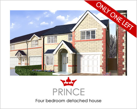 The Prince - brand new homes in Pontefract