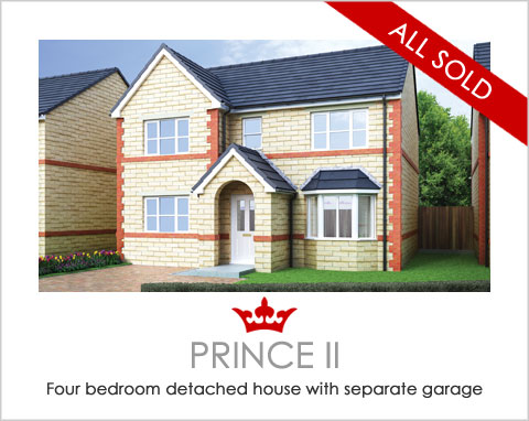 The Queen - new-build houses Pontefract