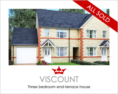 The Viscount - new-build houses near Pontefract