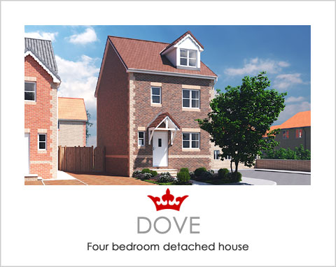 The Dove - a new build house by Noble Homes