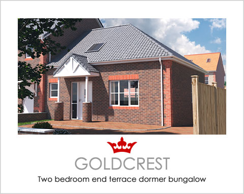 The Goldcrest - a new build house by Noble Homes