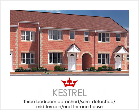 The Kestrel - a new build house by Noble Homes
