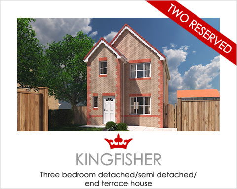 The Kingfisher - a 3 bed new build house by Noble Homes