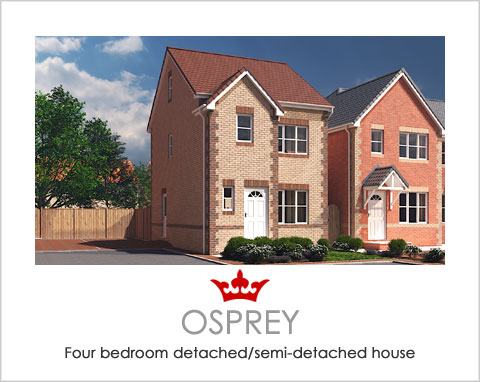 The Osprey - a new build house by Noble Homes