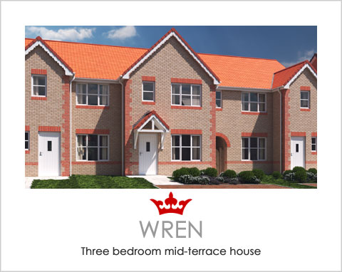 The Wren - a new build house by Noble Homes
