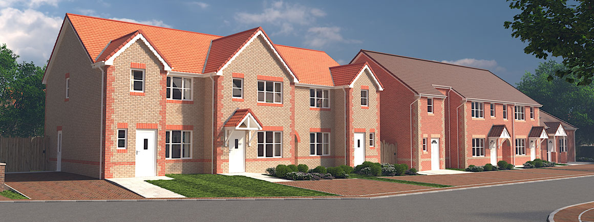 Nightingale - new housing development in Moorends, Doncaster