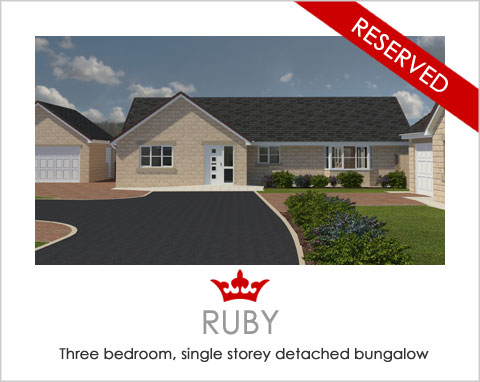 The Ruby - a new-build bungalow by Noble Homes