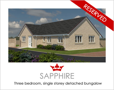The Sapphire - a new-build bungalow by Noble Homes