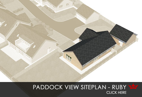 Siteplan for Paddock View, Hambleton