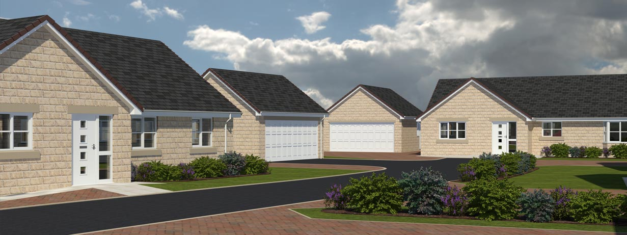Paddock View - new housing development in Hambleton, Selby, North Yorkshire