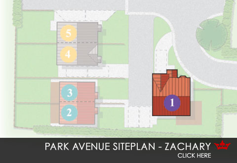 Siteplan for The Park Avenue