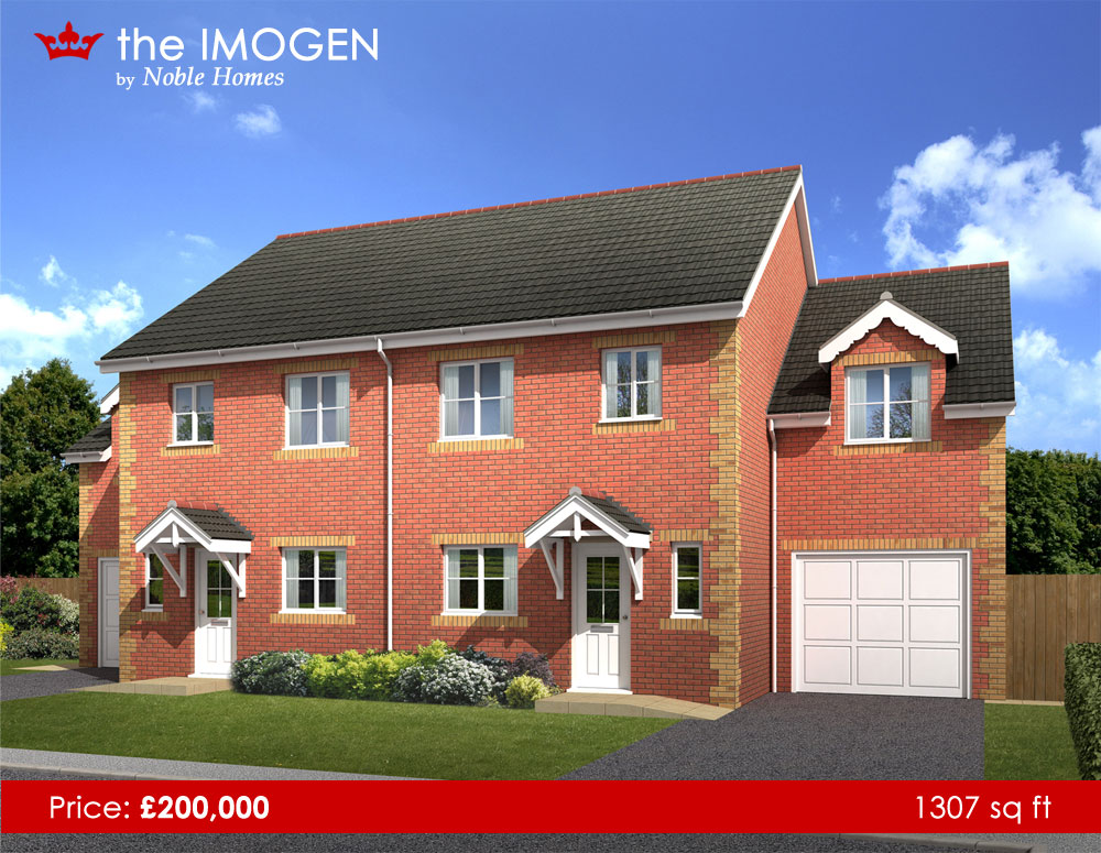Noble Homes Park Avenue Royston New Homes For Sale