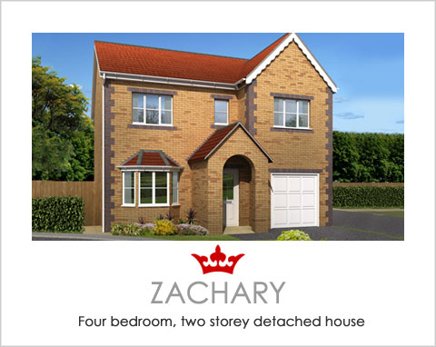 The Zachary - a new house by Noble Homes