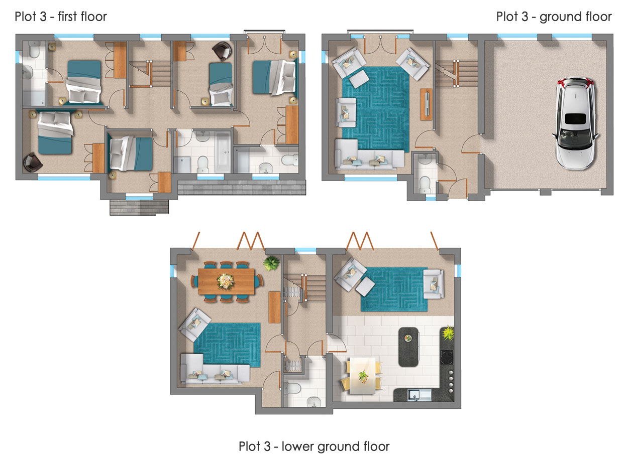 Noble Homes :: Self-build plots, Almondbury - Self-build opportunities