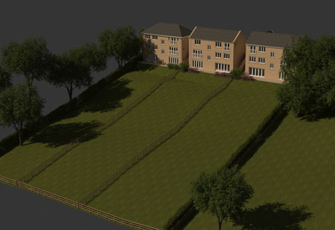 Large self-build plots in Yorkshire